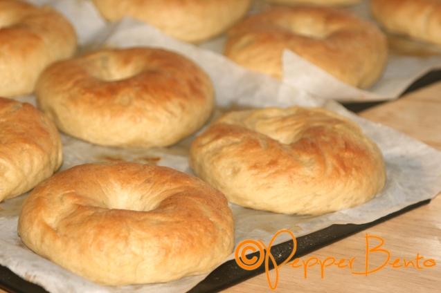 A Dozen Chewy Homemade Bagels 1