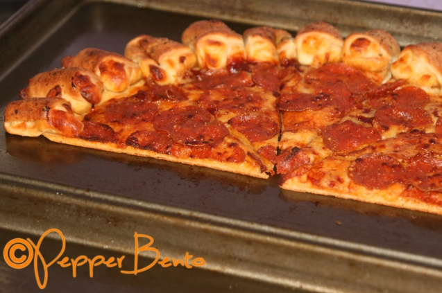 Pizza Hut Pizza Frozen Recooked
